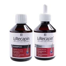 LR L-Recapin Set 1+1 Tonicum 200ml + Shampoo 200ml Ein starkes Duo!