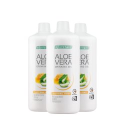 LR Lifetakt Aloe Vera Drinking Gel Traditionell mit Honig Honey 3x 1000ml
