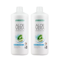 LR Lifetakt Aloe Vera Drinking Gel Active Freedom 2x 1000ml