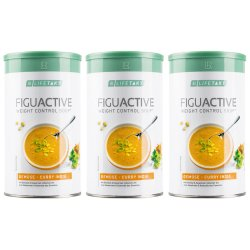 LR Lifetakt Figu Active Suppe Gemüse-Curry India 3x 500g