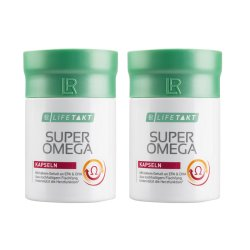 LR Lifetakt Super Omega 3 active 2x 60 Kapseln