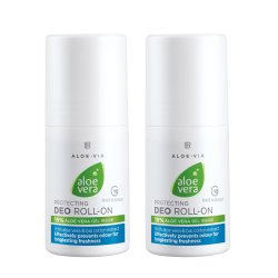 LR Aloe VIA Aloe Vera Deo Roll on Schützender Deo Roll-on 2x 50ml