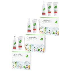 LR Aloe VIA Aloe Vera Box 3tlg Propolis 3x 100ml, Concentrate 3x 100ml, Emergency Spray 3x 150ml