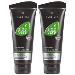LR Aloe VIA Aloe Vera Men Anti Stress Cream Anti-Stress Creme 2x 100ml