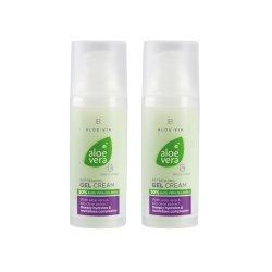 LR Aloe VIA Aloe Vera Hydratisierende Erfrischende Gel Creme Hydratising Gel Cream 2x 50ml