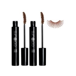 LR colours Volume & Curl Mascara Dark Brown 2x 10ml