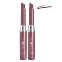 LR colours Glossy Lipstick Crystal Mauve 2x 1,6g
